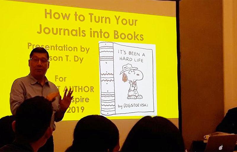 Turn Journals To Books