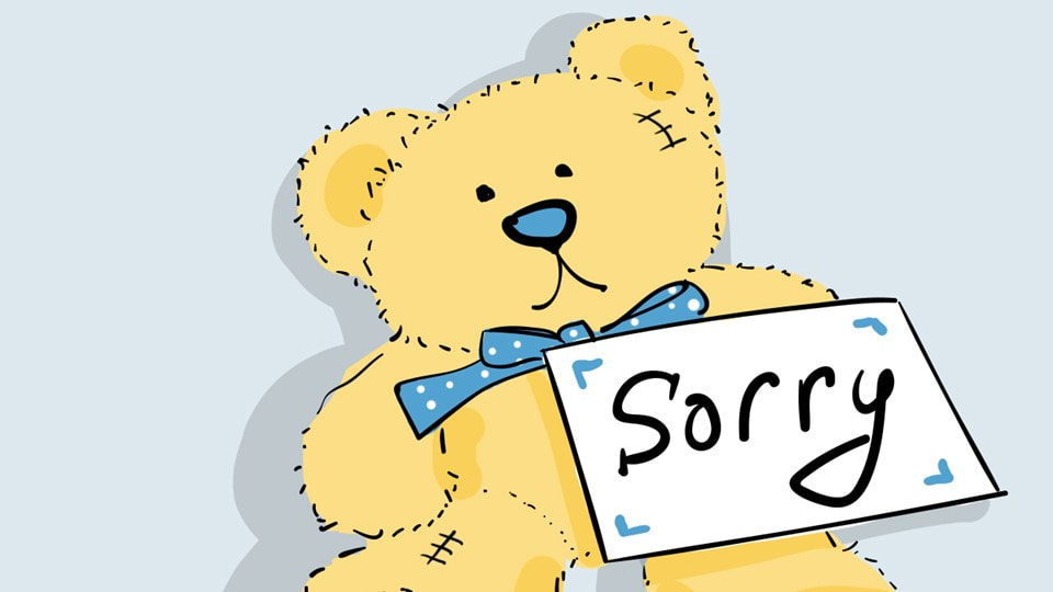 HOW TO BEST SAY SORRY